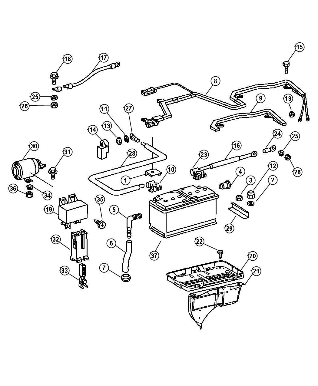 Dodge Sprinter Battery Location