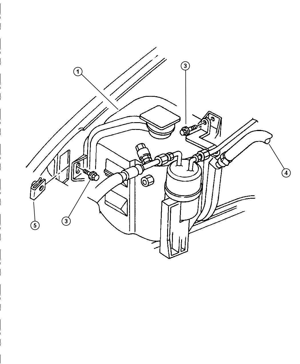 Chrysler Town Amp Country Used For Screw And Washer