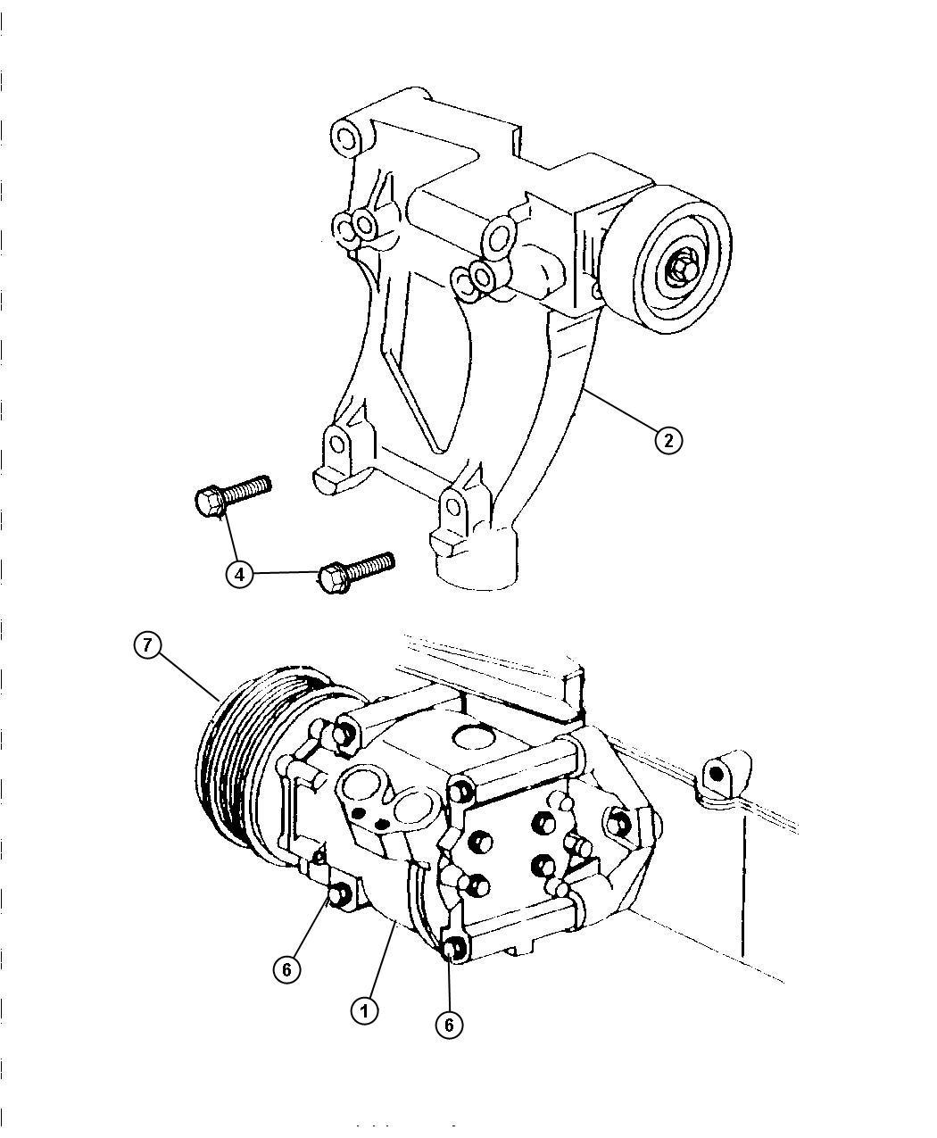 Chrysler Sebring Compressor Air Conditioning