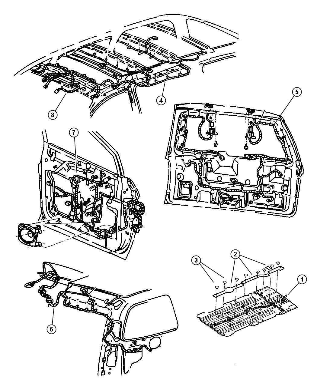 Dodge Grand Caravan Harness Wiring Air Conditioning