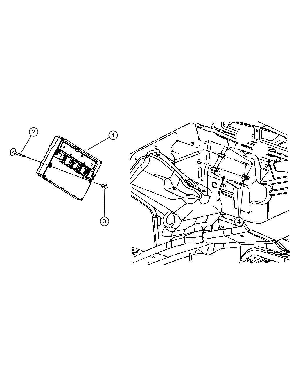 Jeep Commander Module Remanufactured Powertrain