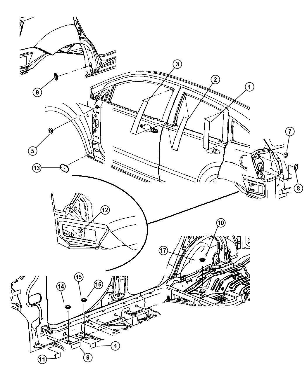 Fuse Box Diagram Dodge Magnum