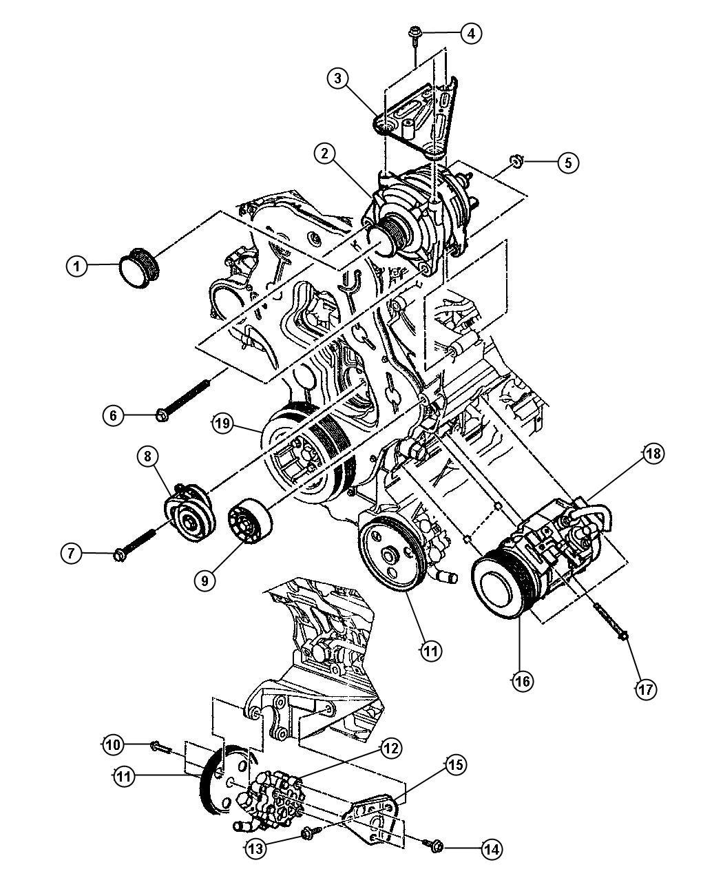 Dodge Ram Clutch Overhaul Kit A C Compressor Kit