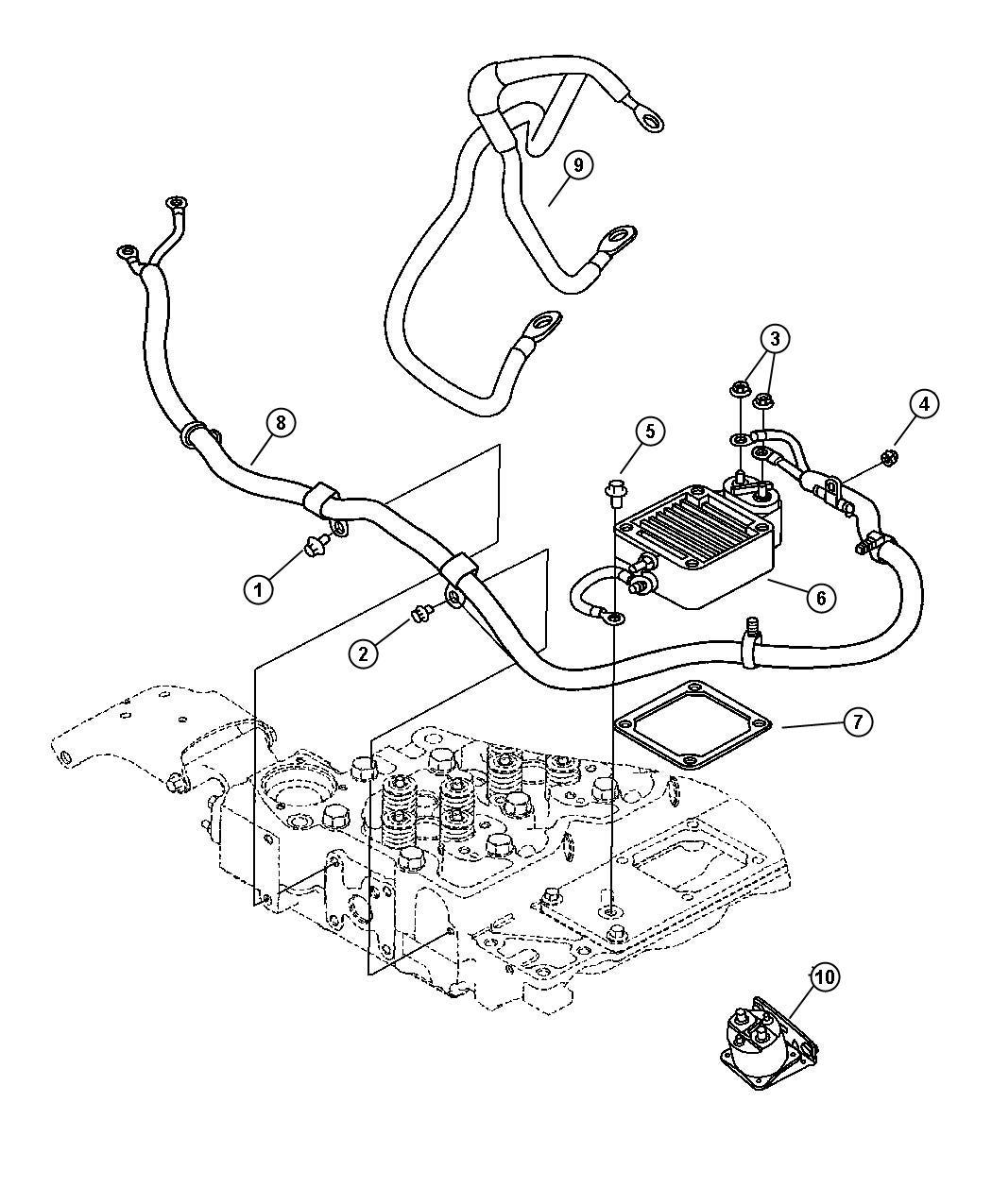 Dodge Ram Wiring Air Intake Heater