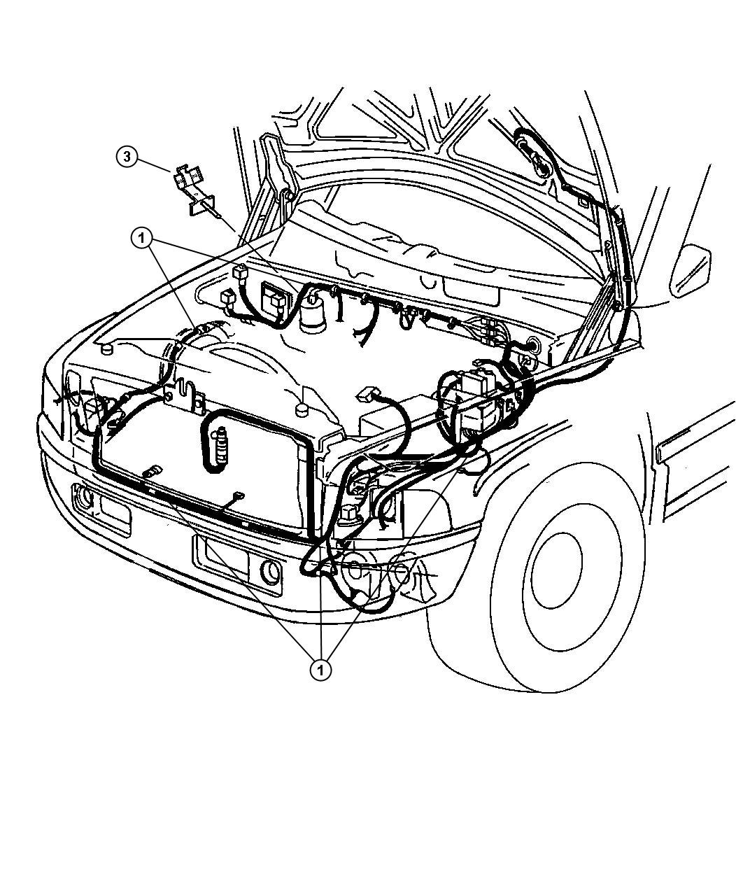Dodge Ram Headlight Wiring Diagram