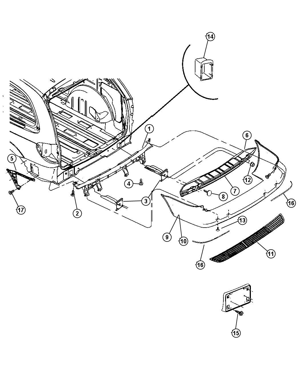 Toyota Highlander Liftgate Parts Diagram Toyota