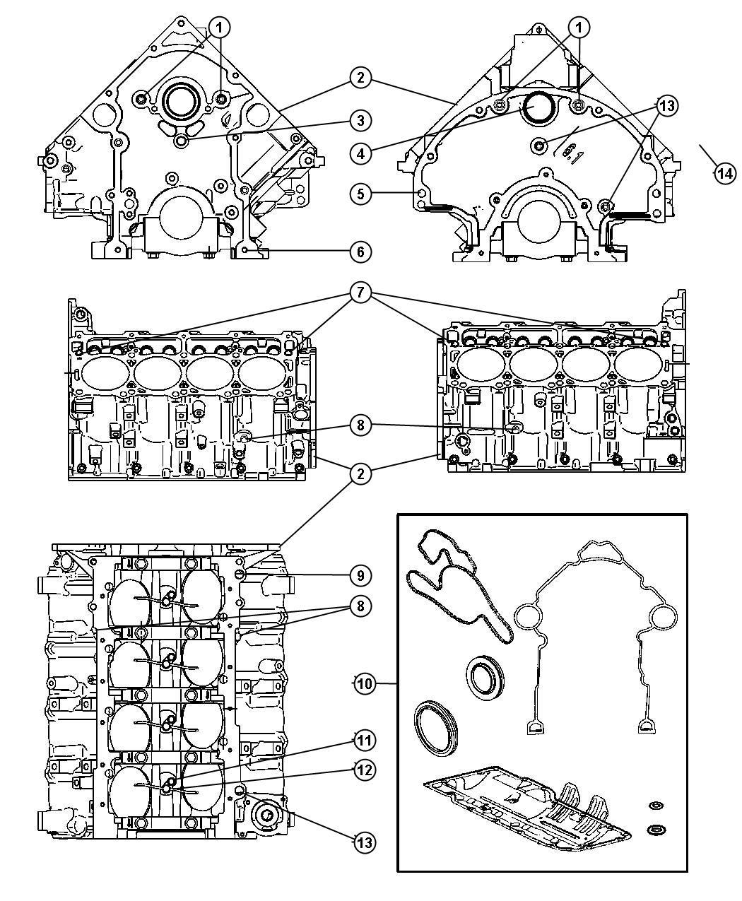 Dodge Durango Plug Cylinder Block Mds Solenoid Soleniod
