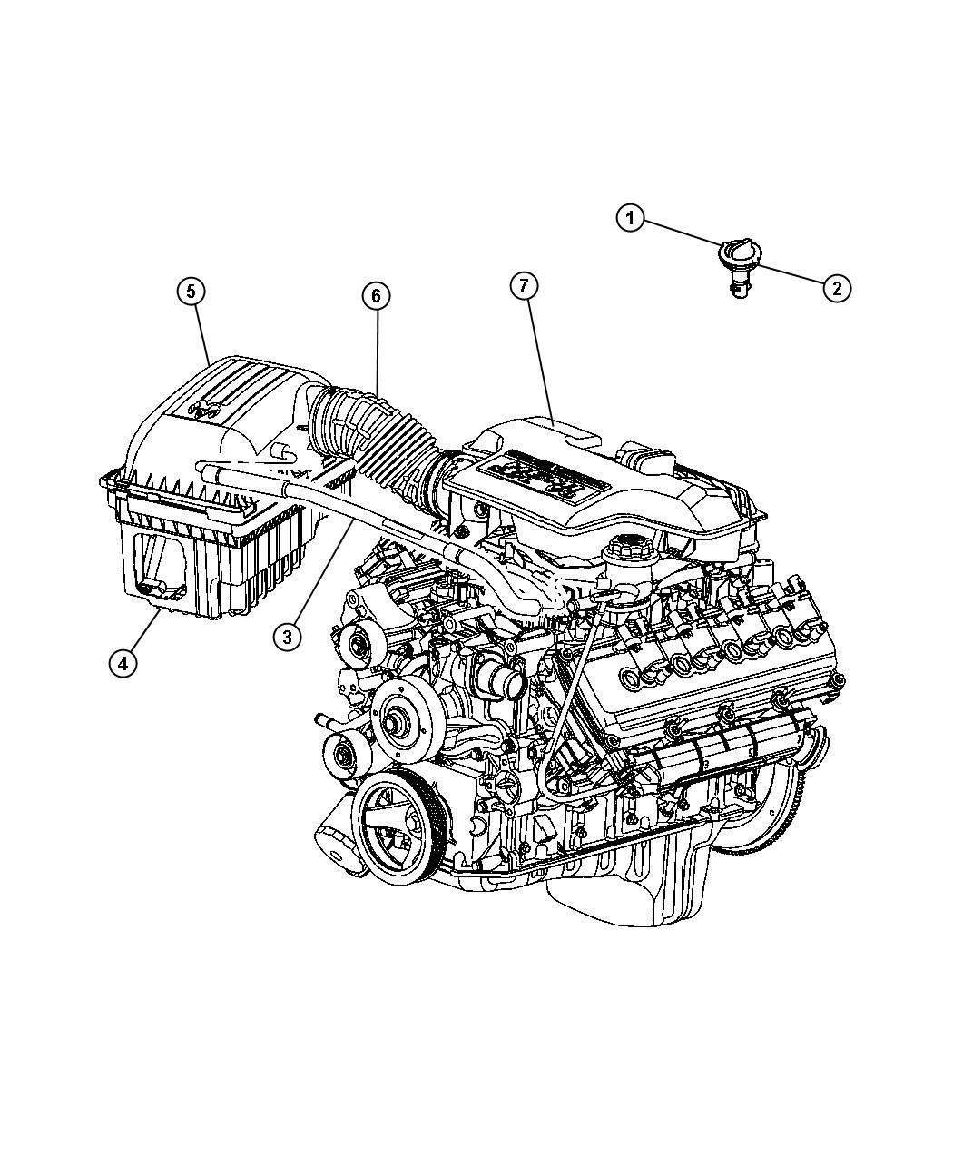 Dodge V8 Engines