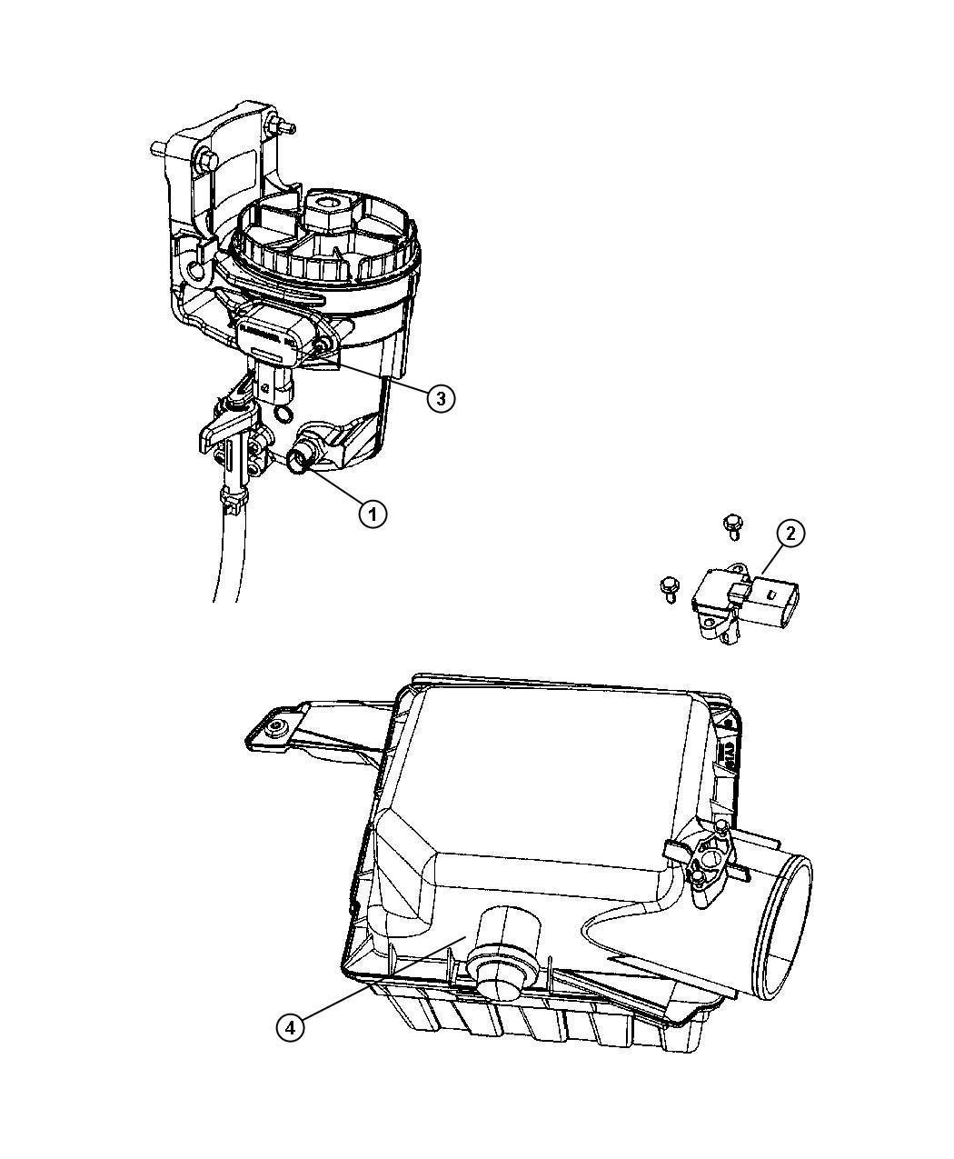 Dodge Ram Gauge Sensor Air Flow Air Restriction