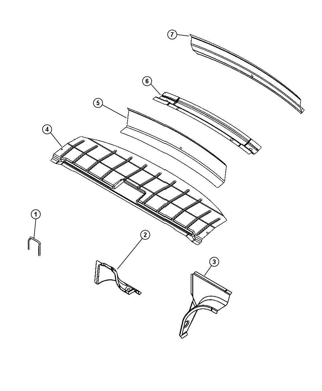2002 pt cruiser parts diagram