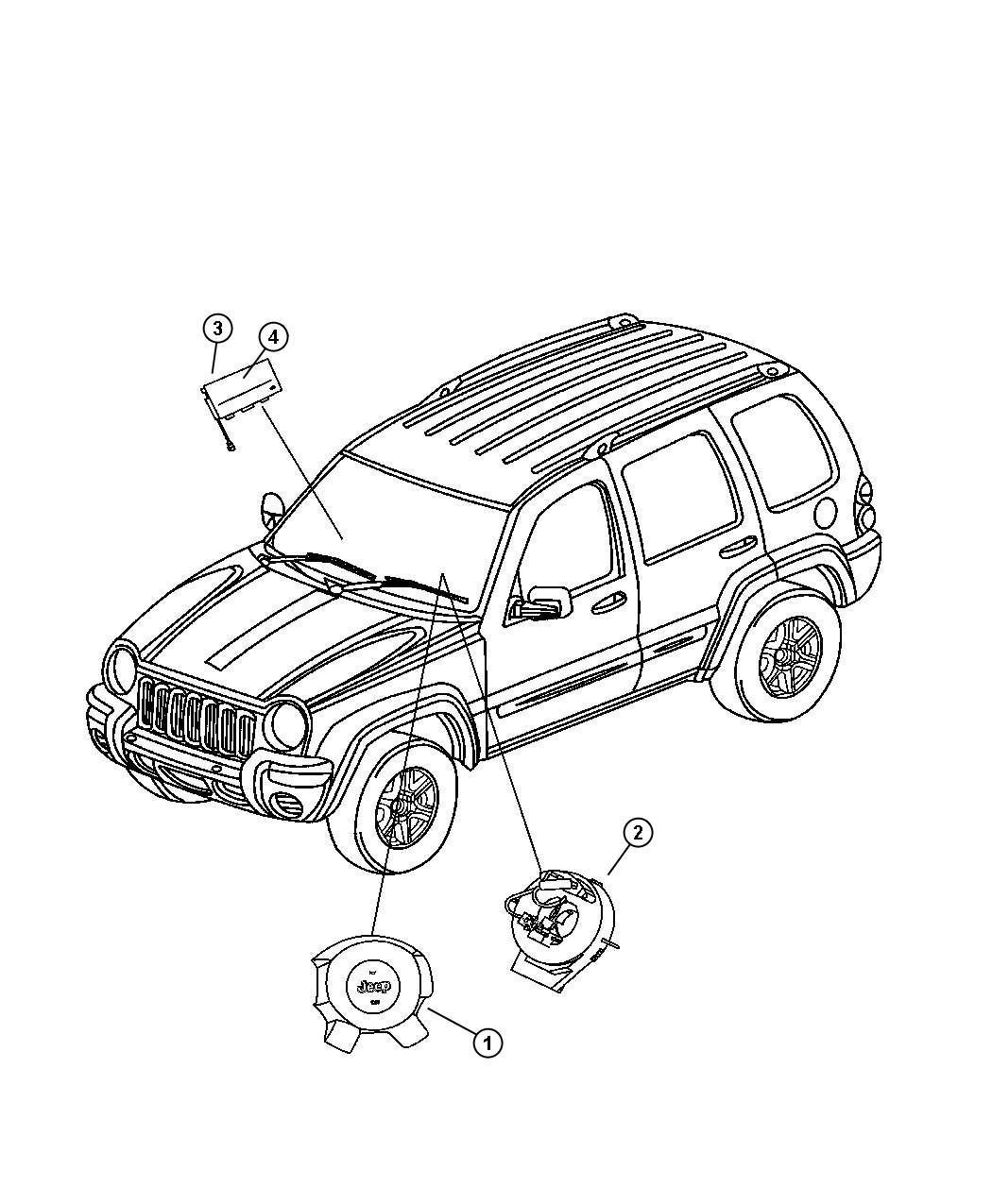 Jeep Liberty Clockspring