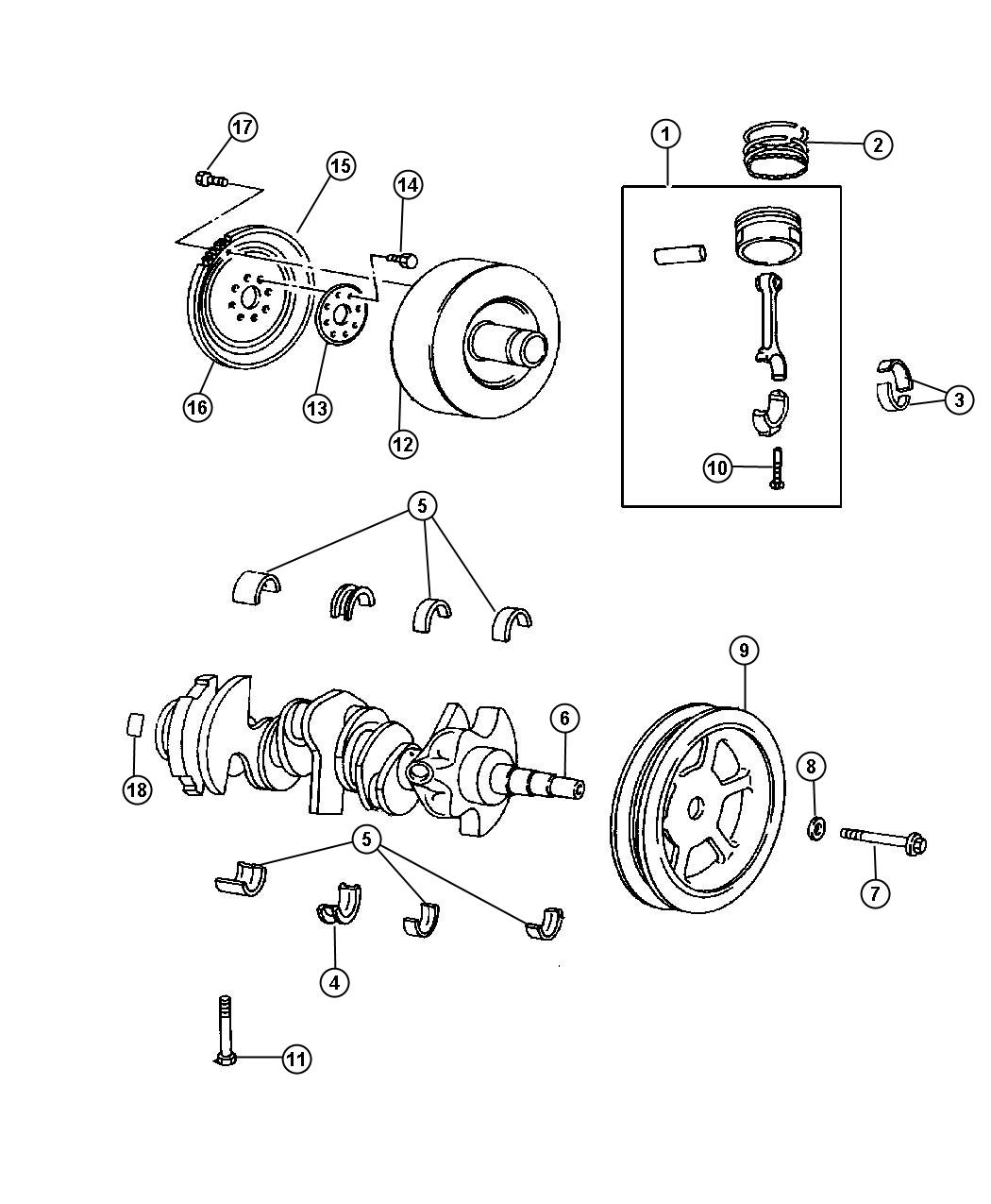 Jeep Wrangler Flywheel Engine Manual Transmission