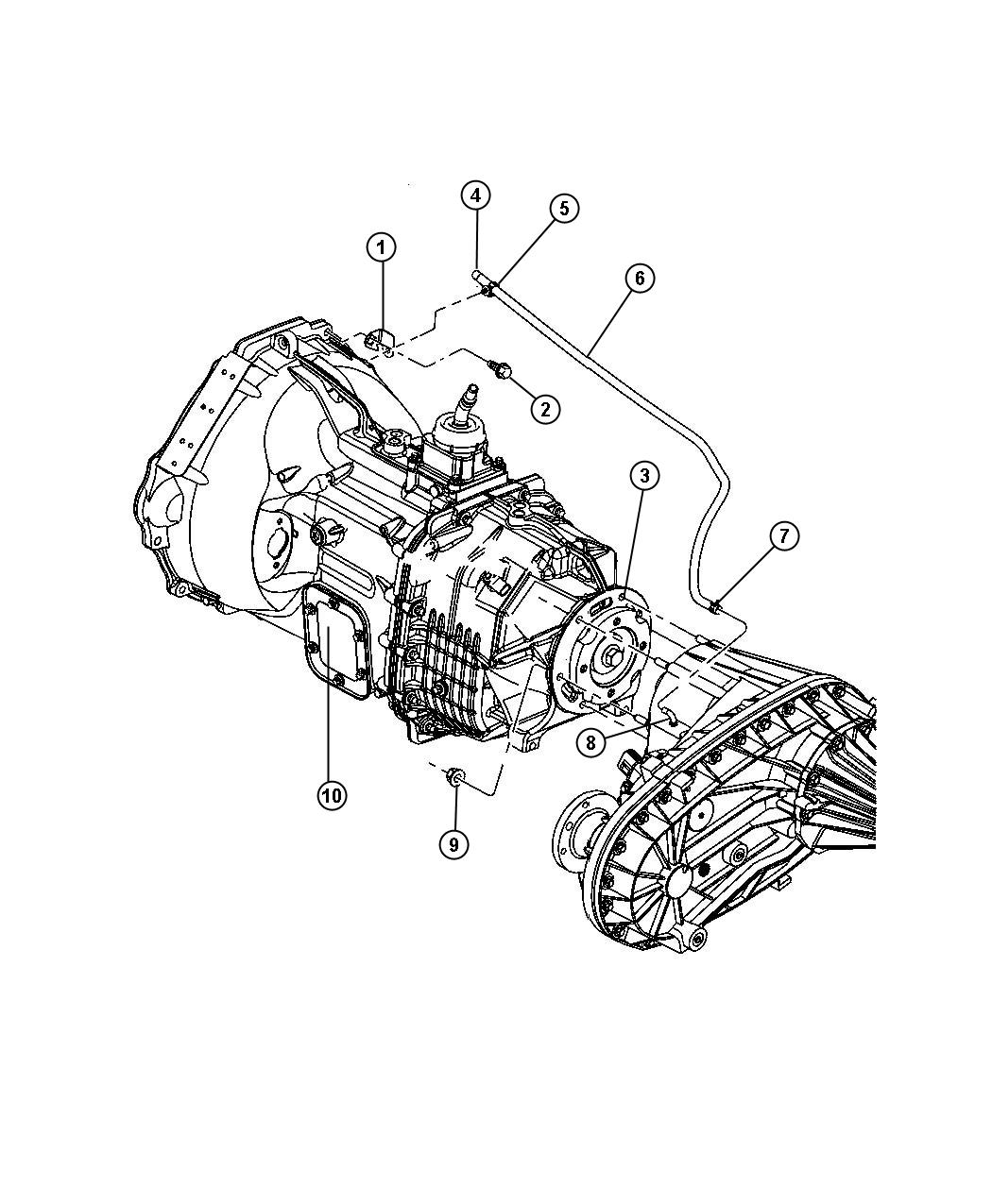 Dodge Ram Transfer Case Mounting And Venting Nvg