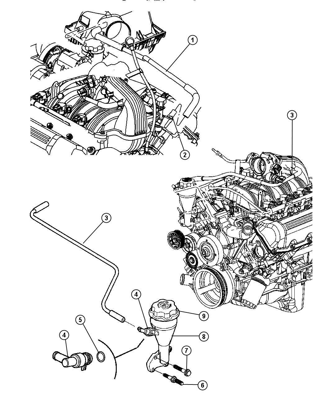 Crankcase Ventilation 3 7l 3 7l V6 Engine
