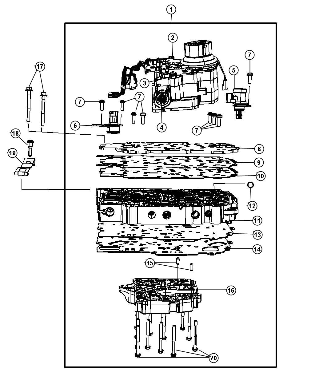 4r100 Transmission Solenoid Diagram