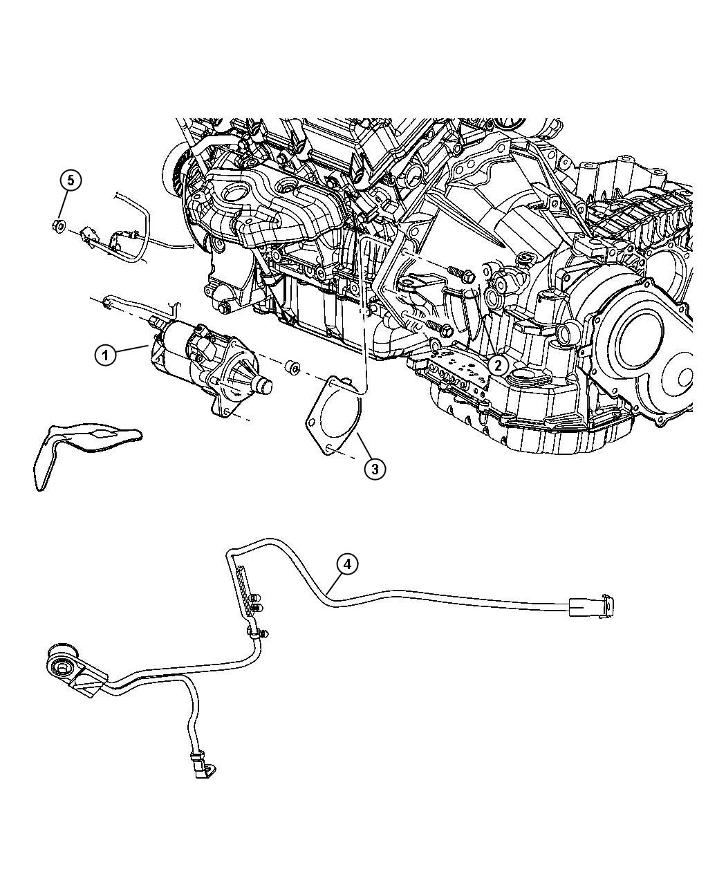 Dodge Grand Caravan Starter Engine