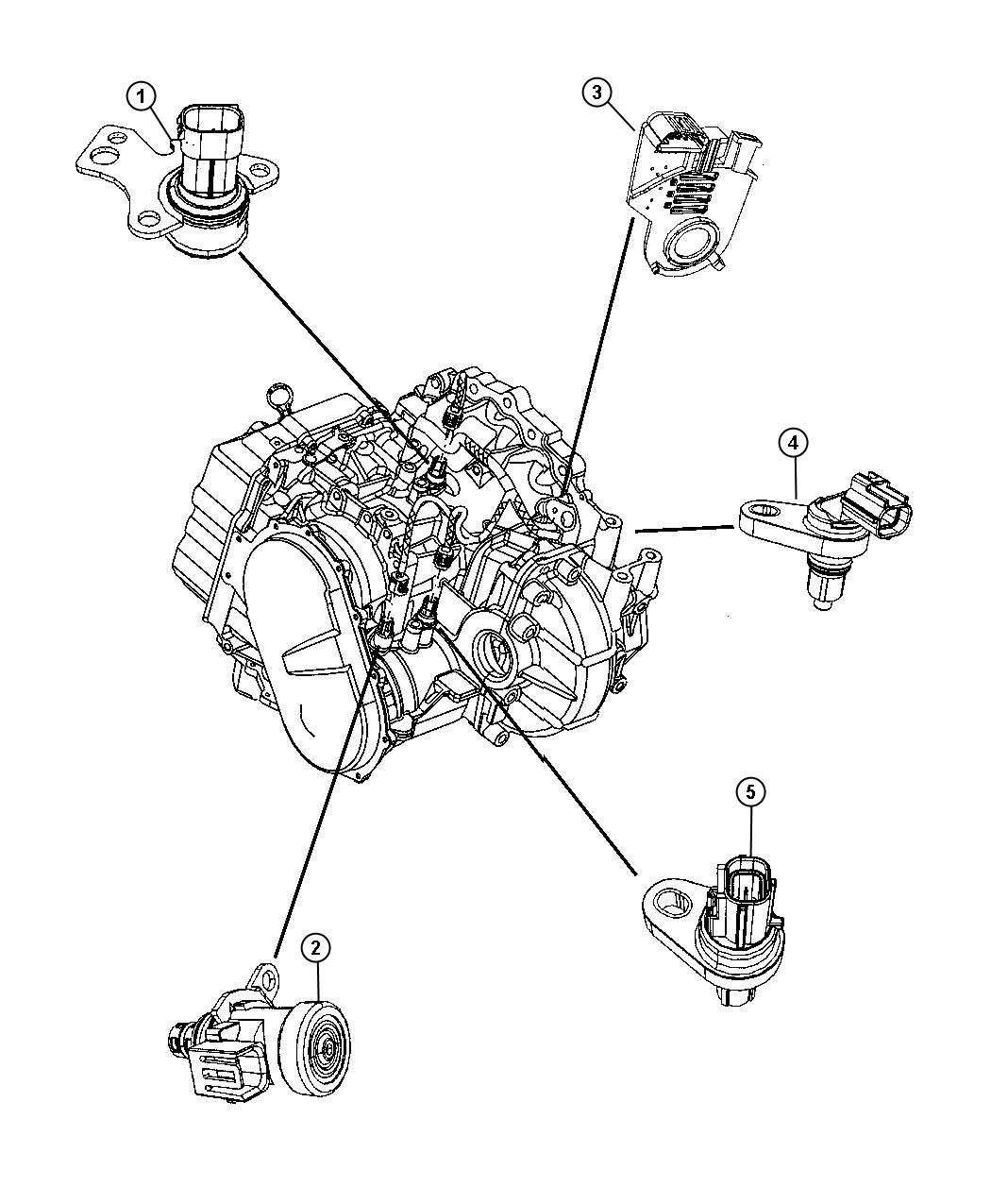 Dodge Dakota O2 Sensor Wiring