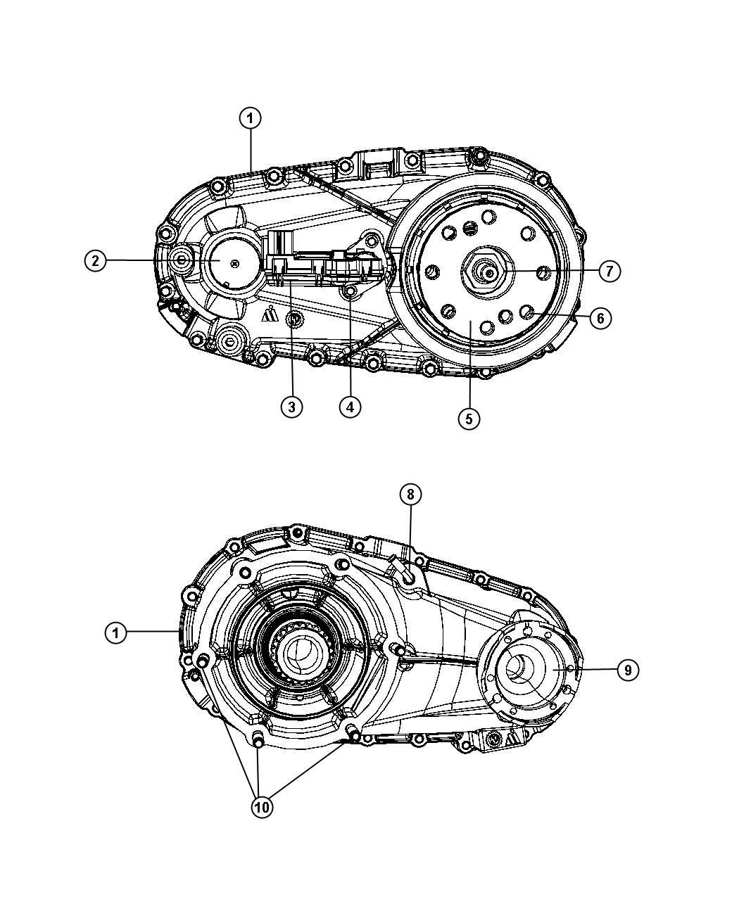 Dodge Nitro Sxt Transfer Case Assembly And