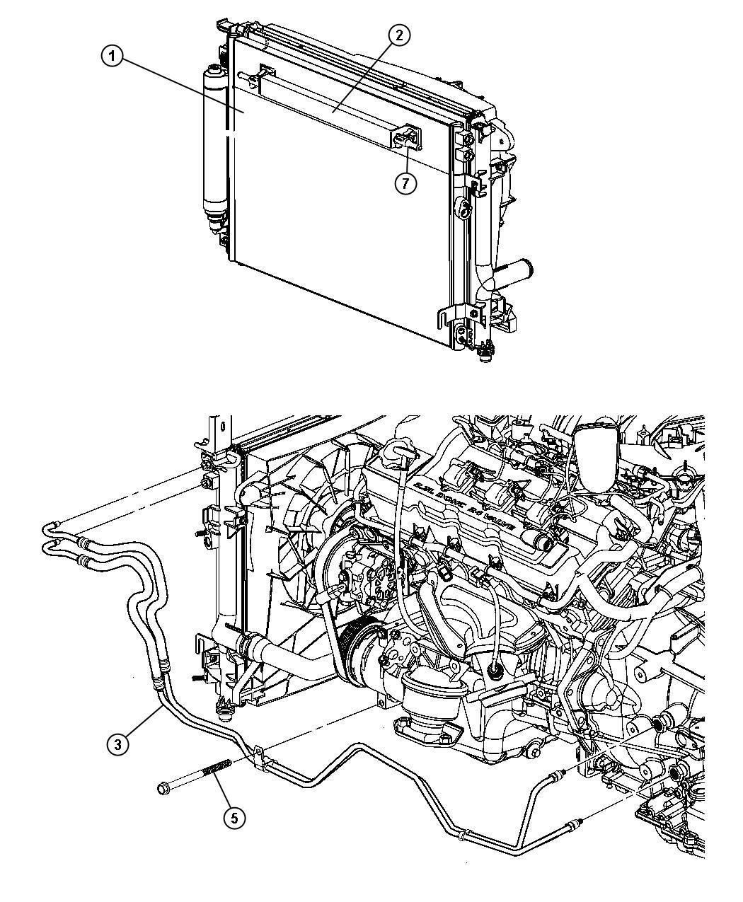 Dodge Ram Valve Cooler Bypass Front End Parts