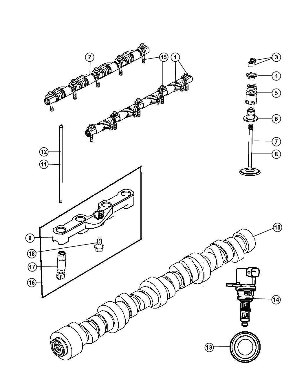 Jeep Commander Solenoid Multiple Displacement Eze
