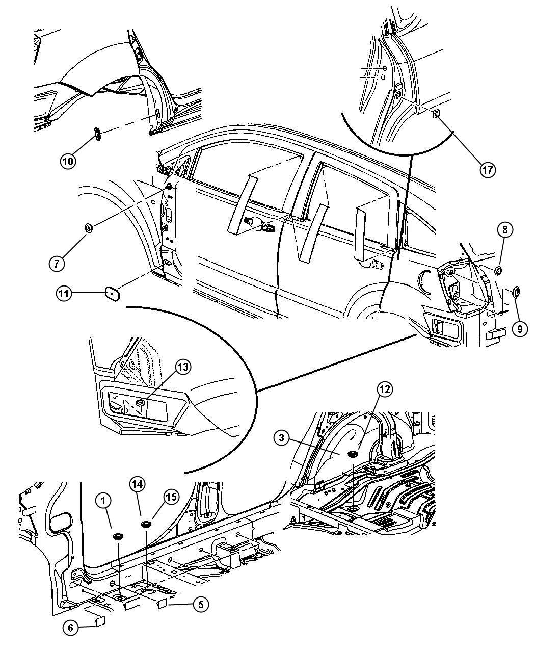 Jeep Wrangler Plug Floor Pan Front Frt Flr Pan Man