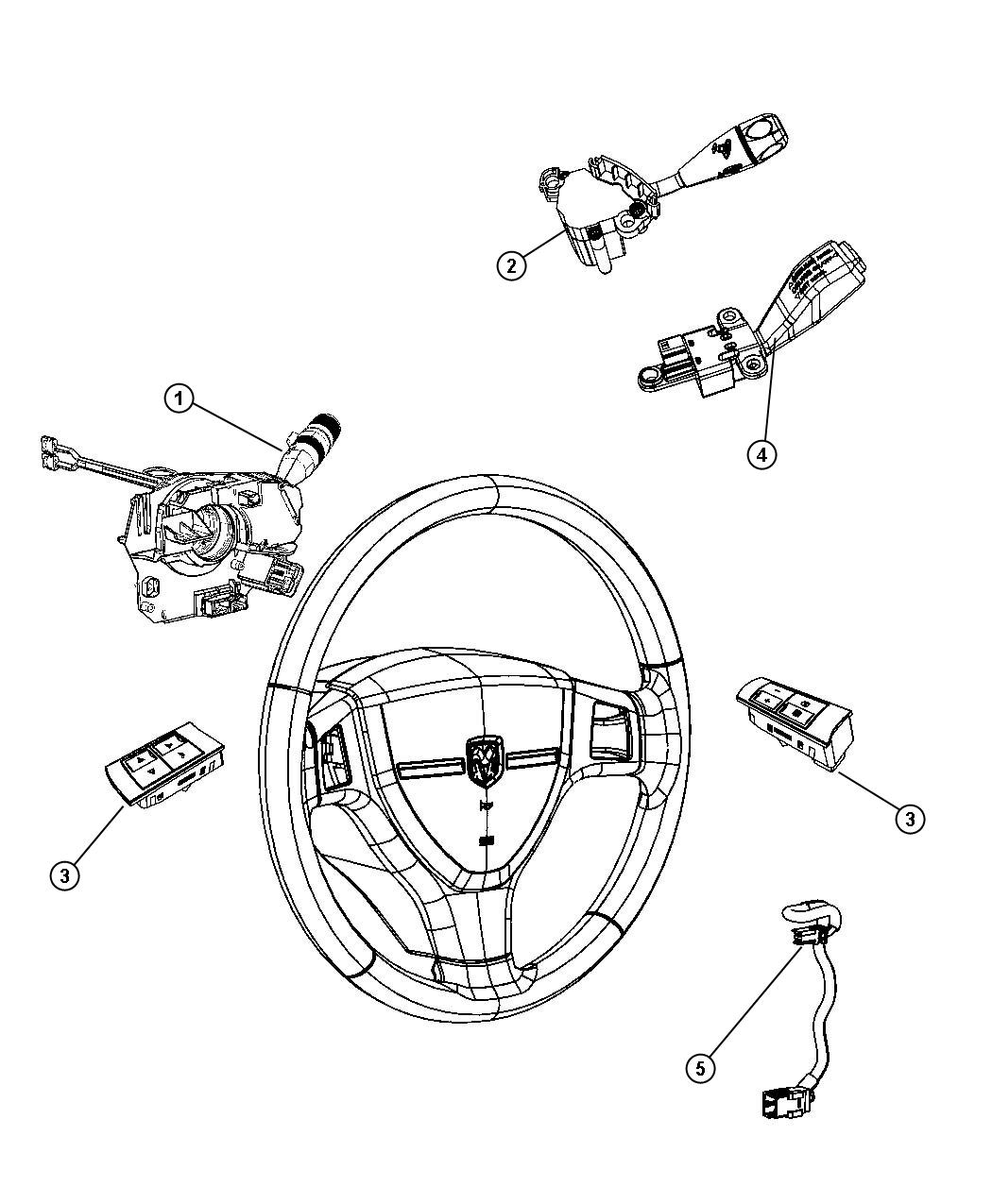 Steering Wheel Column