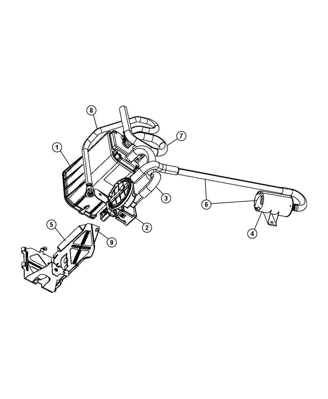 Jeep Liberty Detector Natural Vacuum Leak Detection