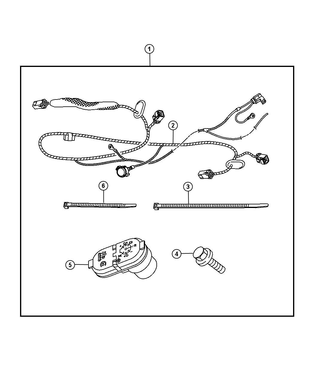 Dodge Ram Wiring Kit Trailer Tow 7 Way