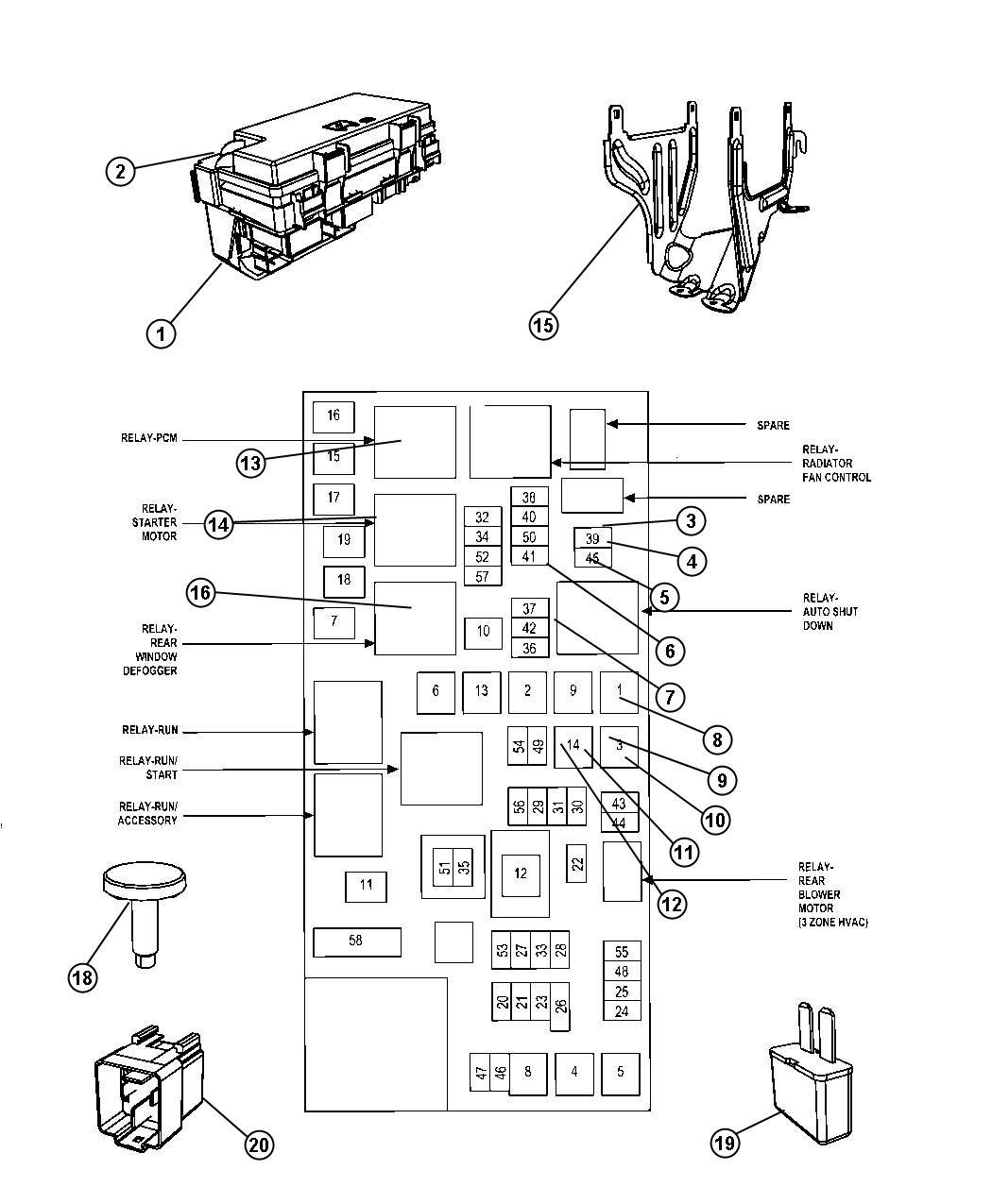 Mini Relay Diagram