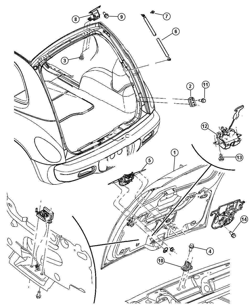 2006 chrysler pt cruiser parts catalog subaru forester wiring diagram 2002 at ww freeautoresponder
