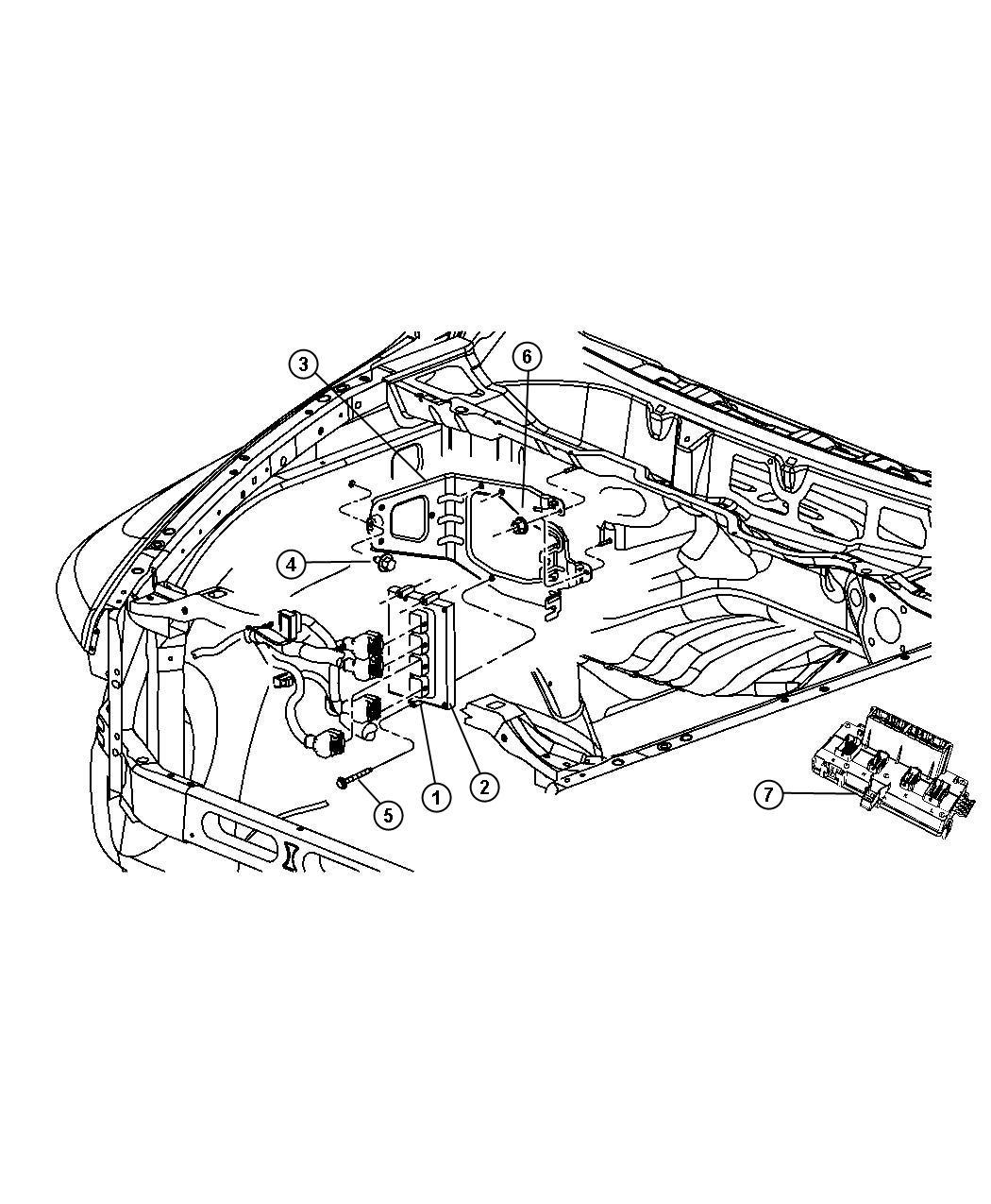 Jeep Wrangler Module Powertrain Control Generic