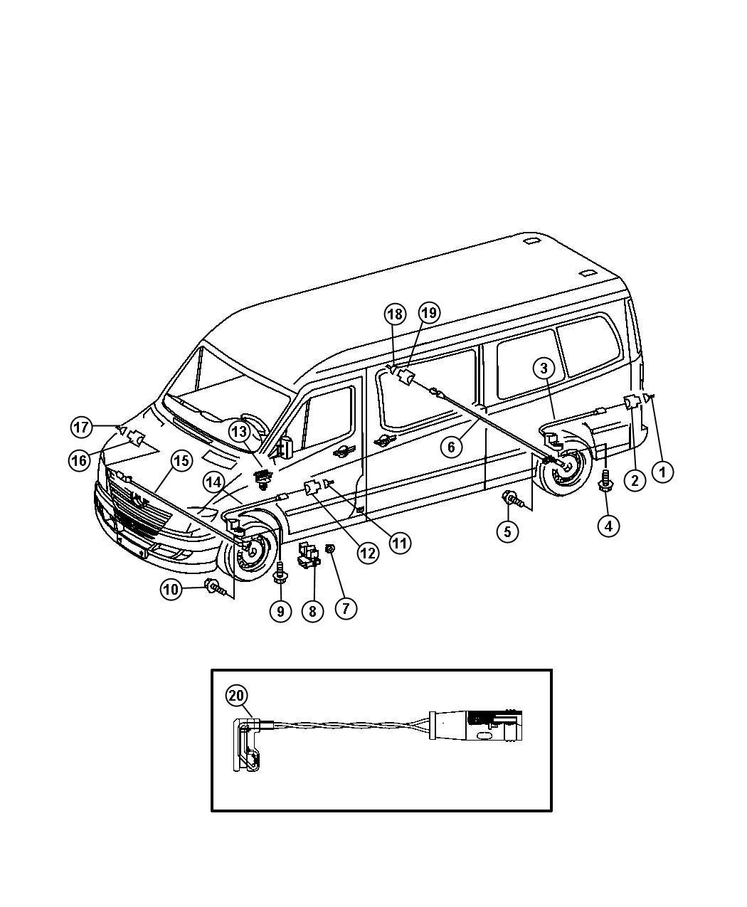 Dodge Sprinter Wiring Brake Indicator On Rear