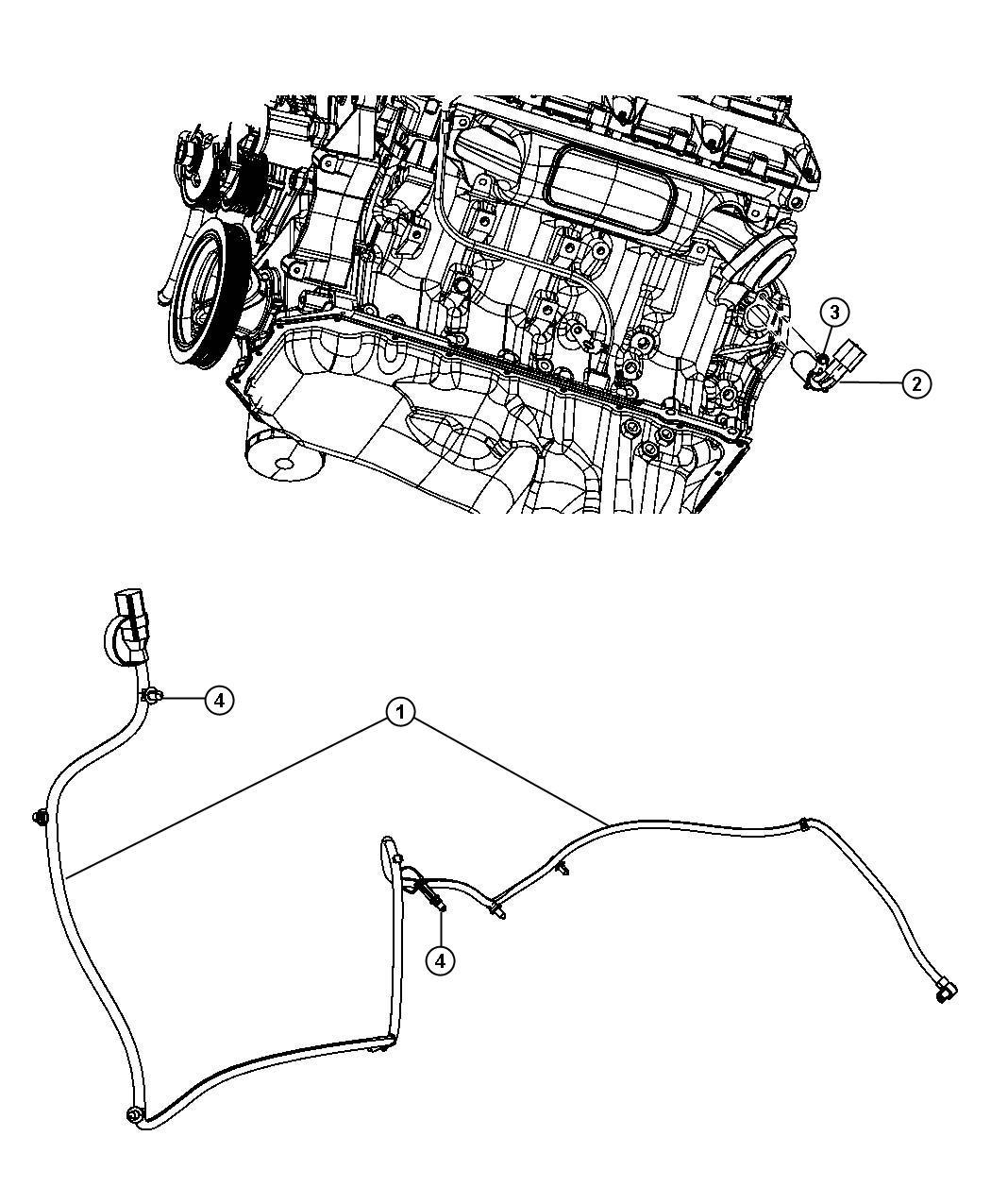Dodge Ram Engine Cylinder Block Heater 5 7l 5