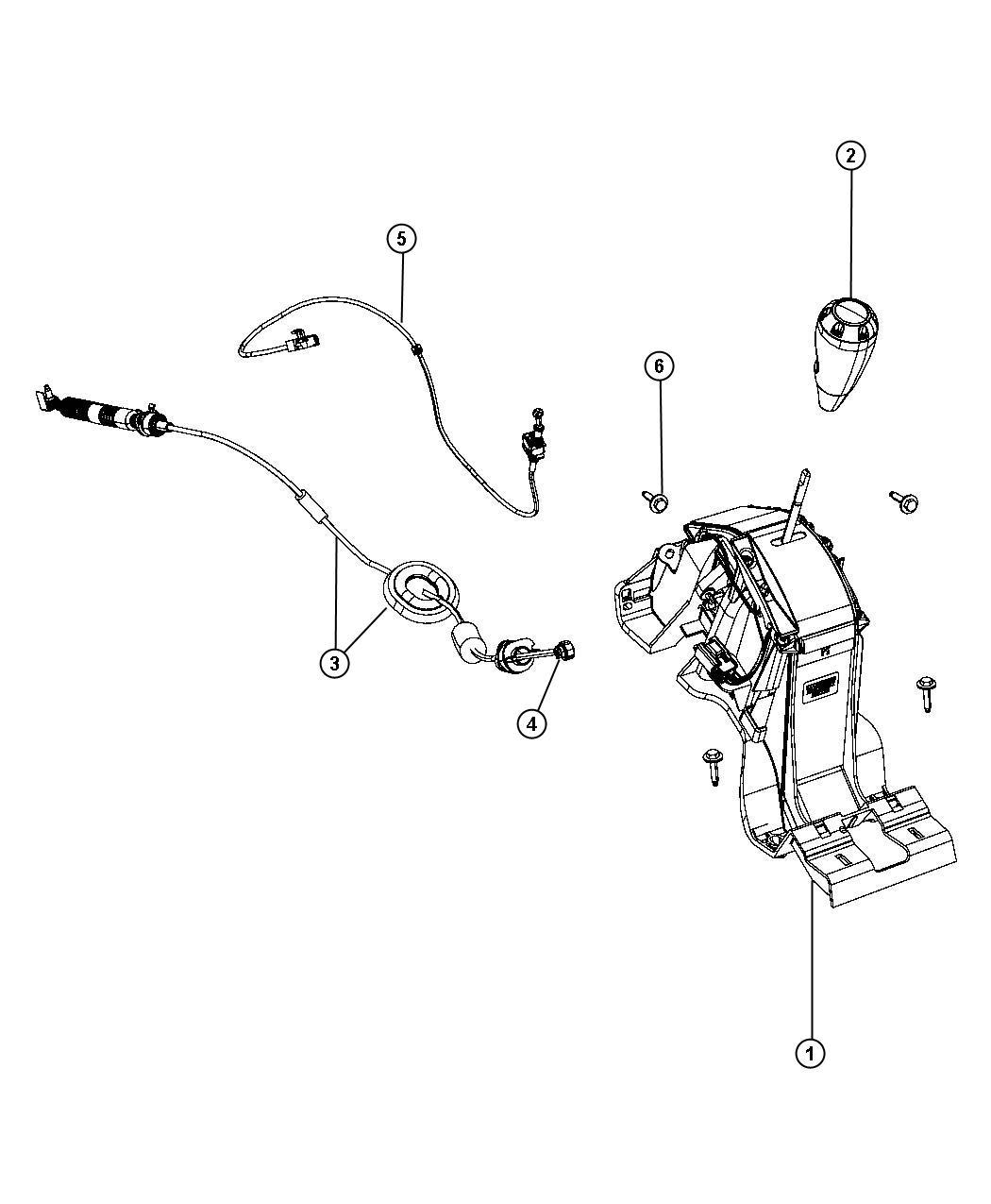 Jeep Wrangler Bushing Gearshift Cable Bushing
