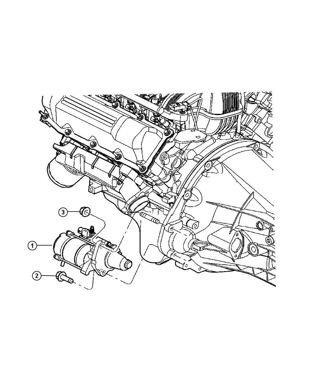 Dodge Ram Starter Engine