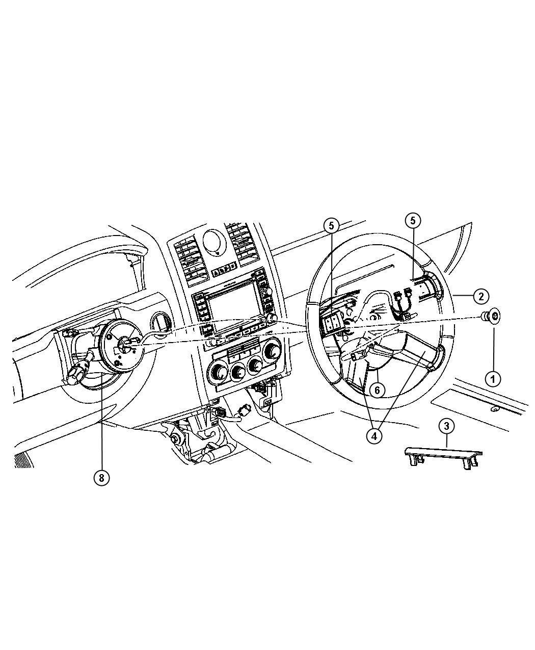 Dodge Charger Mechanical Shroud Steering Column