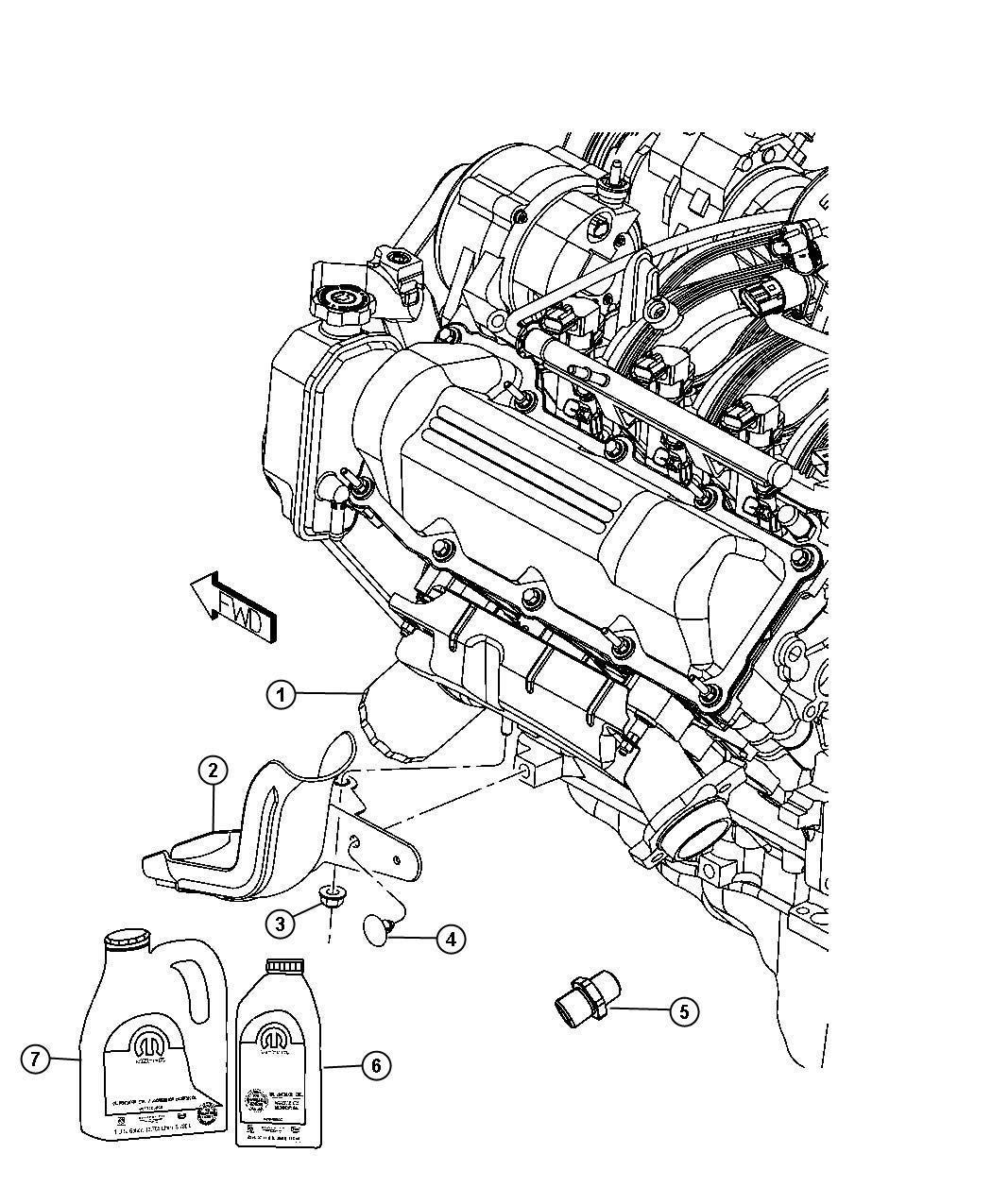 Dodge Journey Engine Oil Oil 5w20 Quart Api Ilsac