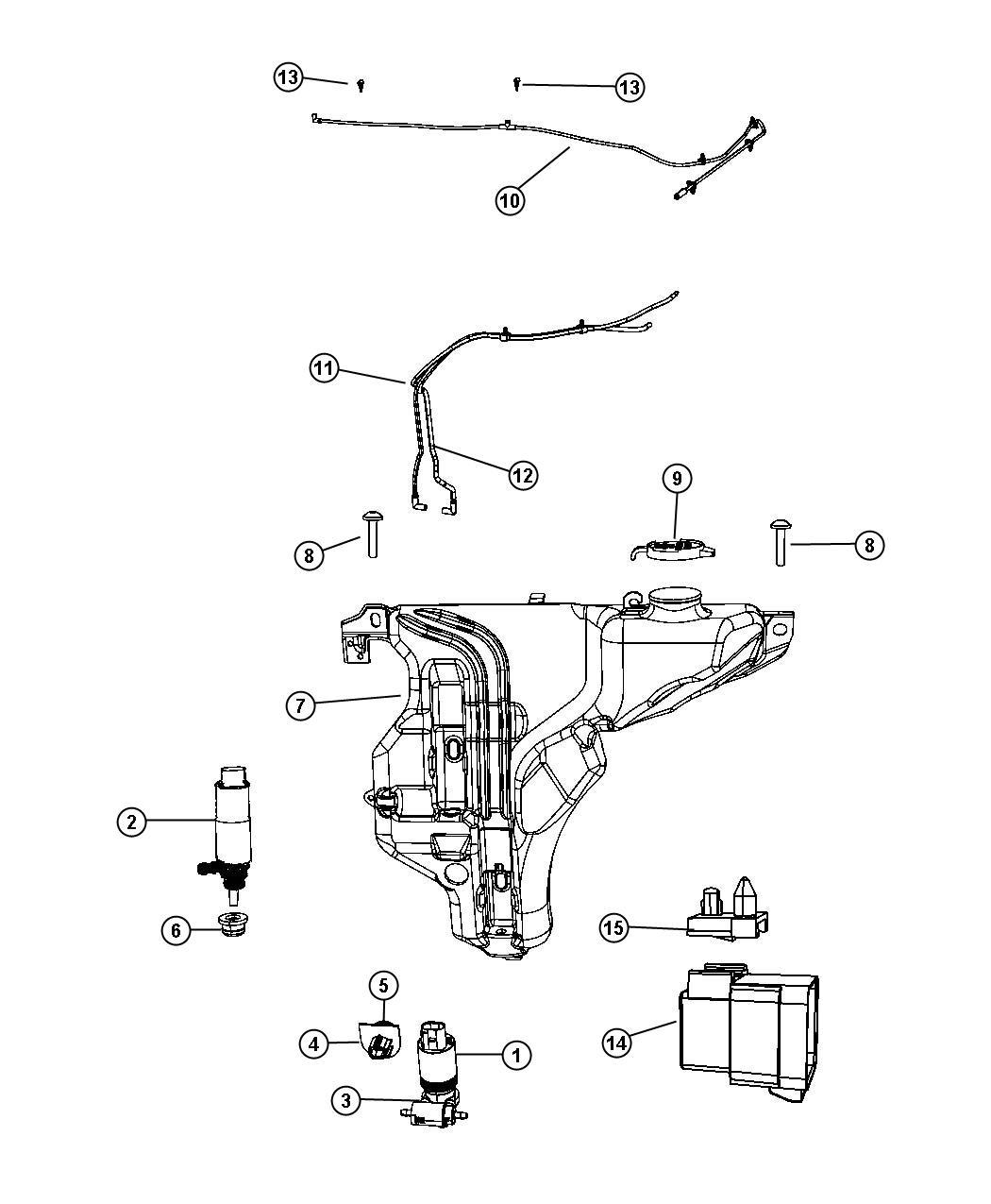 Dodge Journey Relay Radiator Fan