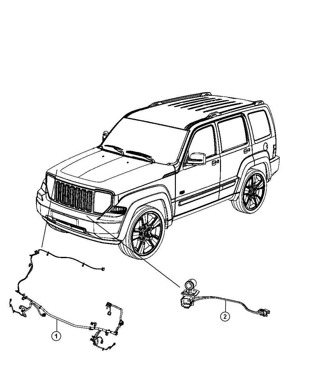 Jeep Liberty Wiring Headlamp To Dash