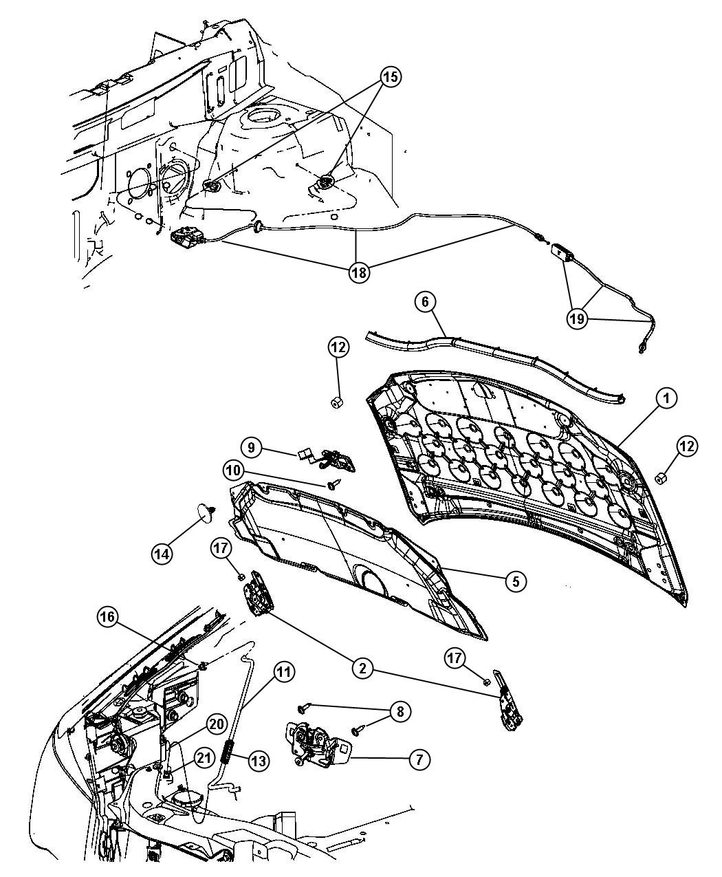 Hood And Related Parts