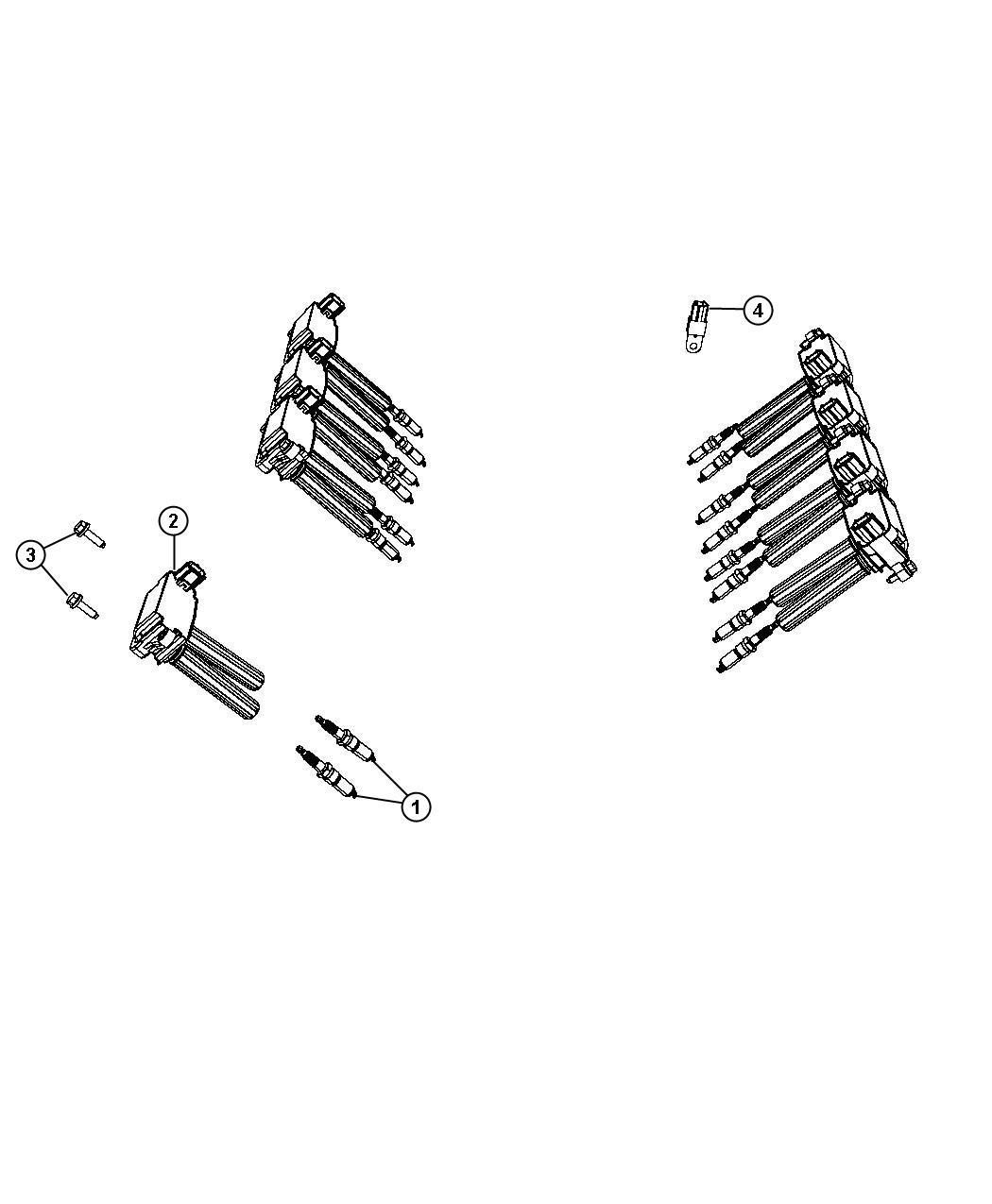Dodge Challenger Spark Plug Left Left Cylinder Head