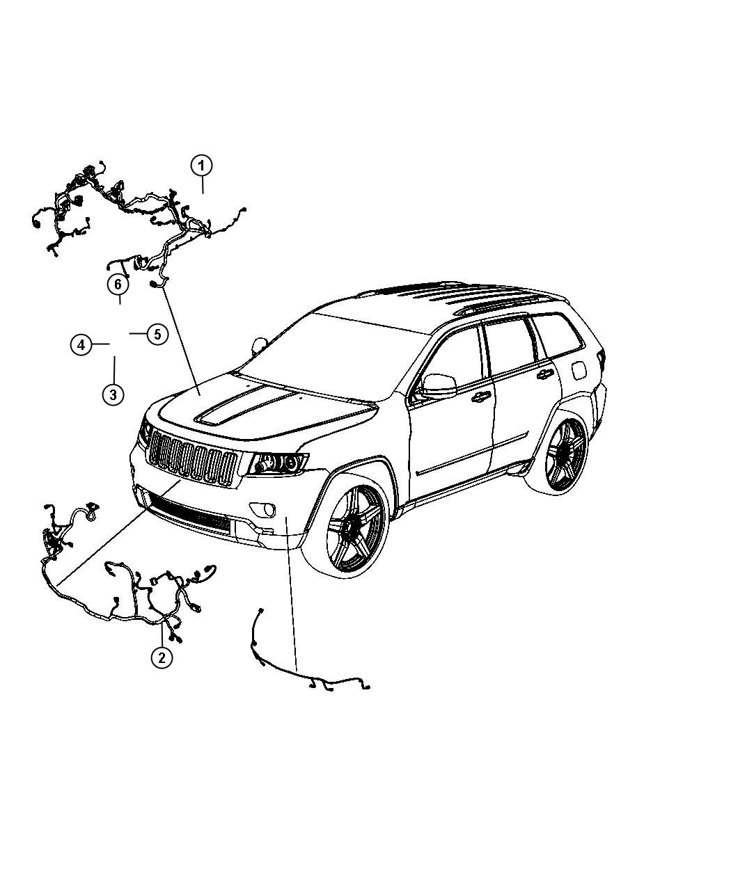 Jeep Grand Cherokee Wiring Headlamp To Dash Export