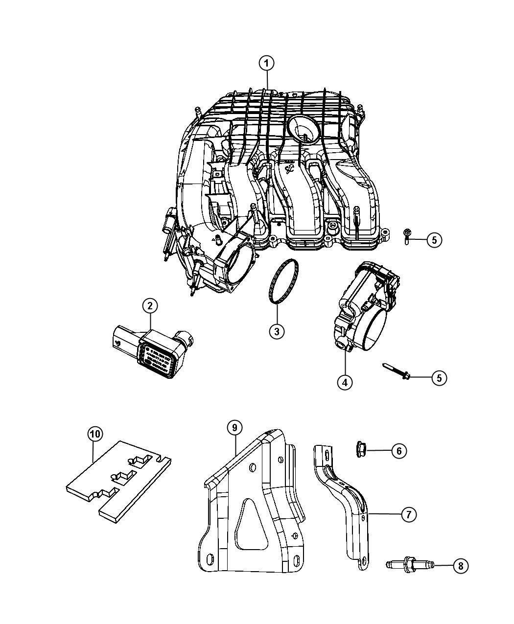 Dodge Charger Pad Engine Foam