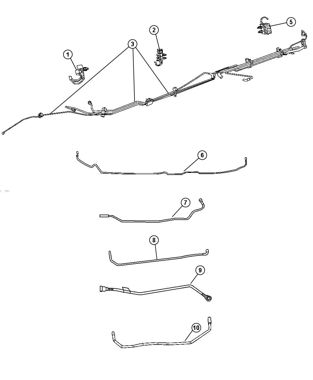Dodge Ram Brake Line Diagram