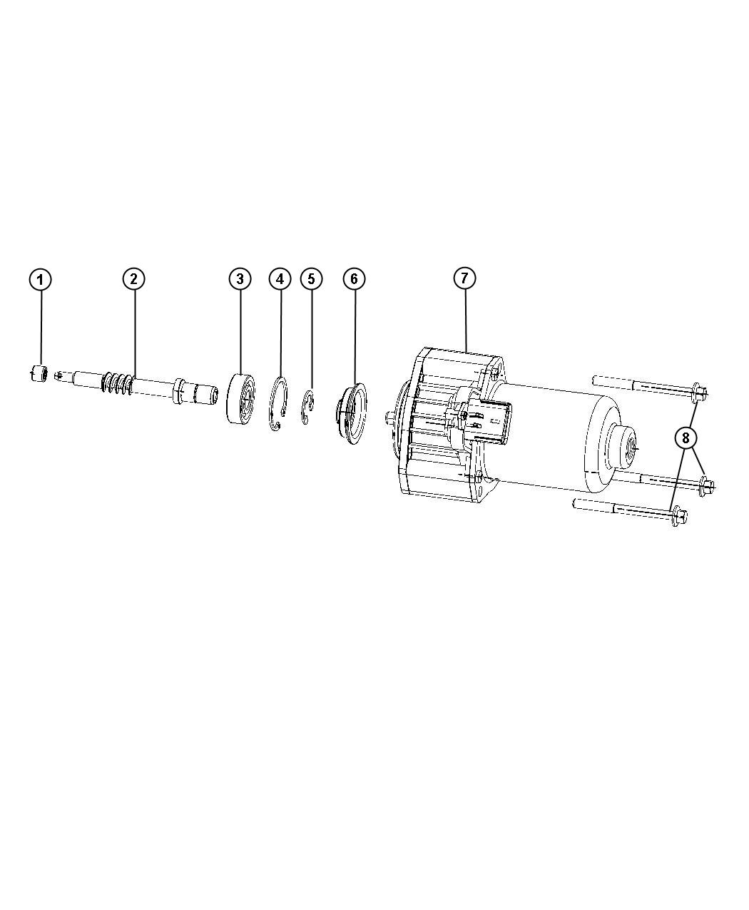 Jeep Grand Cherokee Gear Motor Transfer Case Dhb