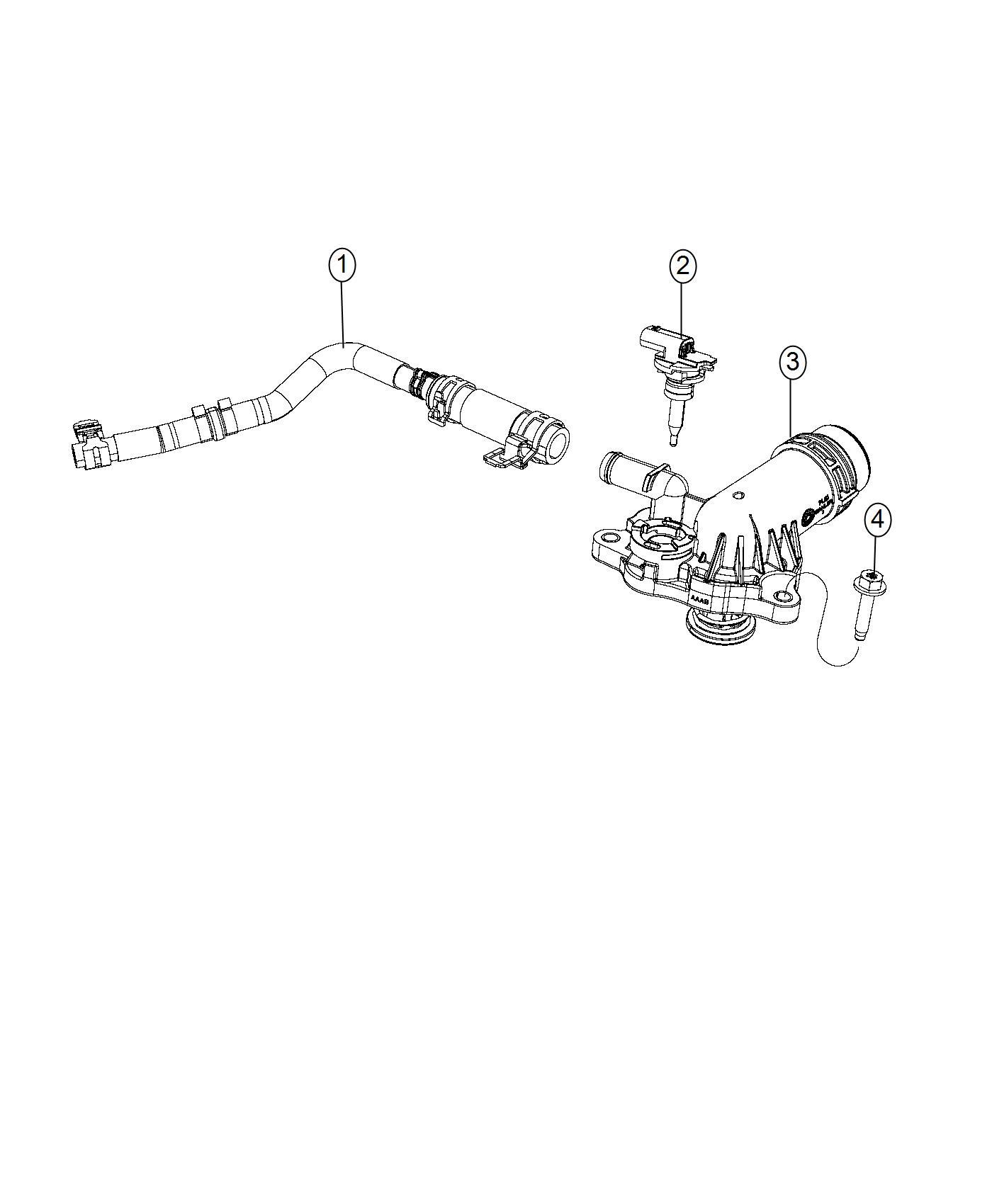 Chrysler Pacifica Sensor Fluid Temperature