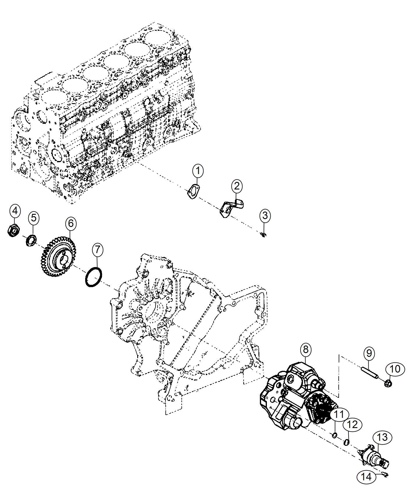 Ram Actuator Fuel Control Injection Pump