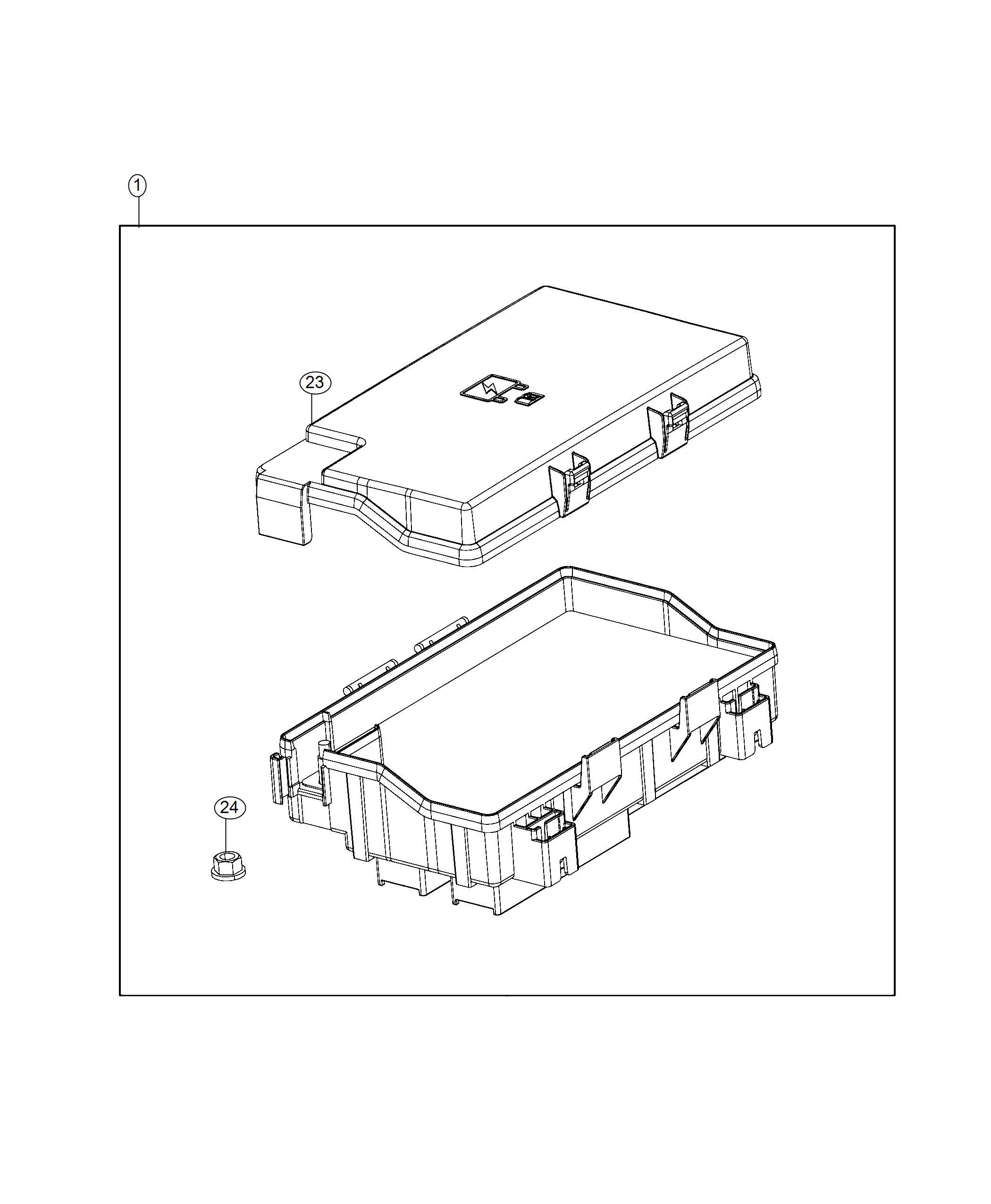 Ram Fuse M Case Mini J Case 20 Amp Export