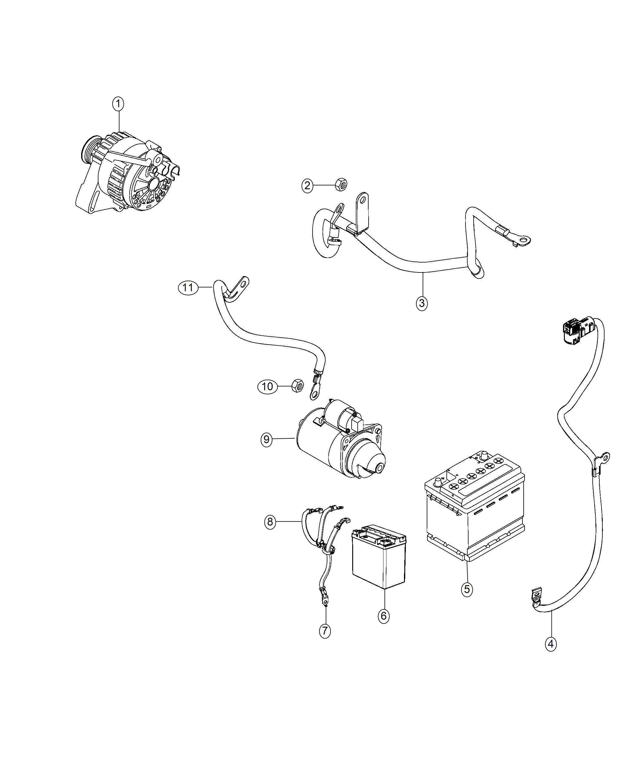 Jeep Compass Wiring Battery Positive Auxiliary