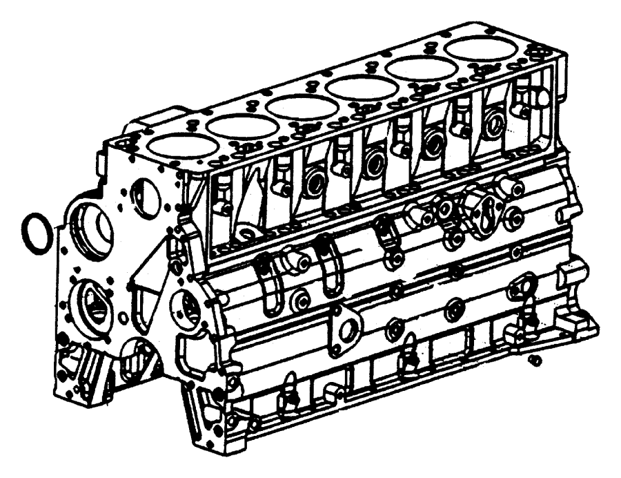 Cylinder Block 5 9l Engine Cumminssel